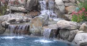 swimming pools water feature
