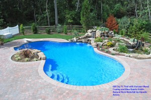 in ground swimming pool & spa from Swim-Mor