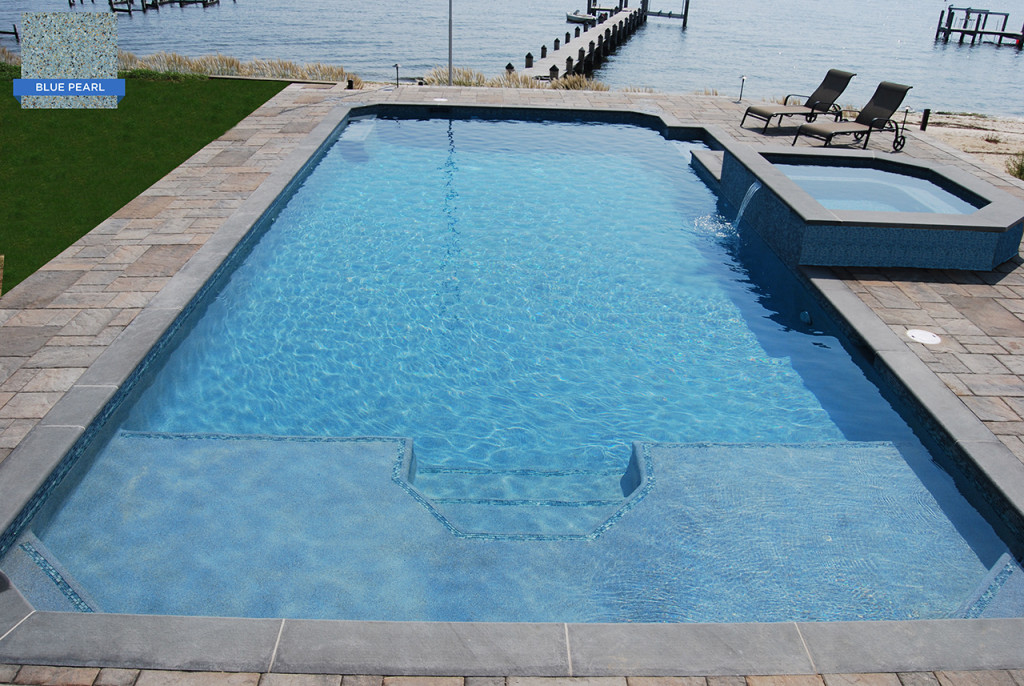 Pebble Pool Finishes | Swim-Mor Pools and Spas
