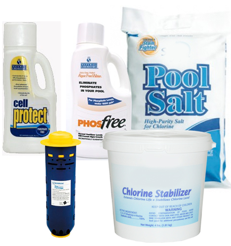 Fusion Soft Salt Pool Chemical Package