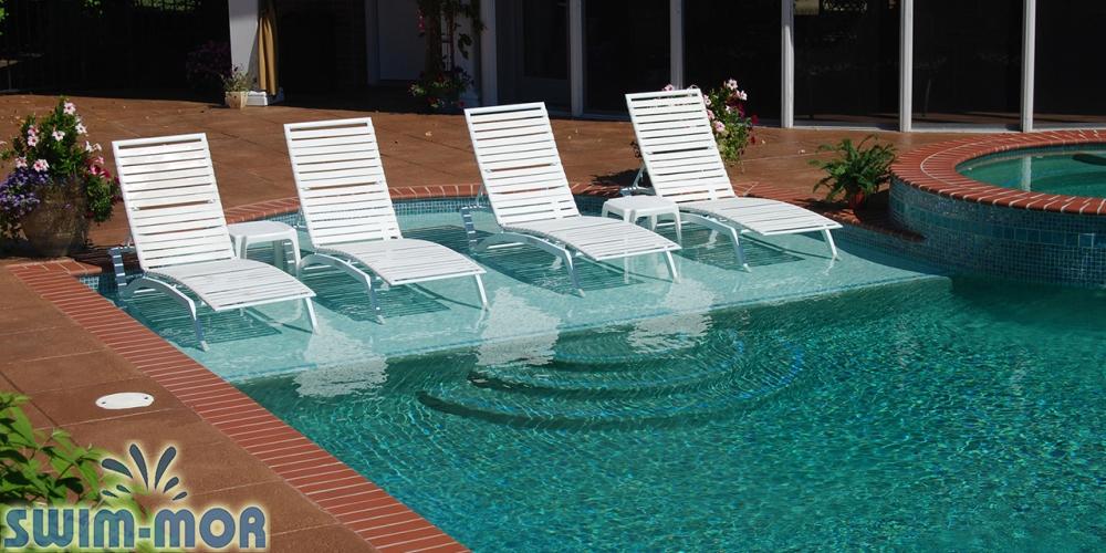 Pool Sun Shelves Swim Mor Pools And Spas