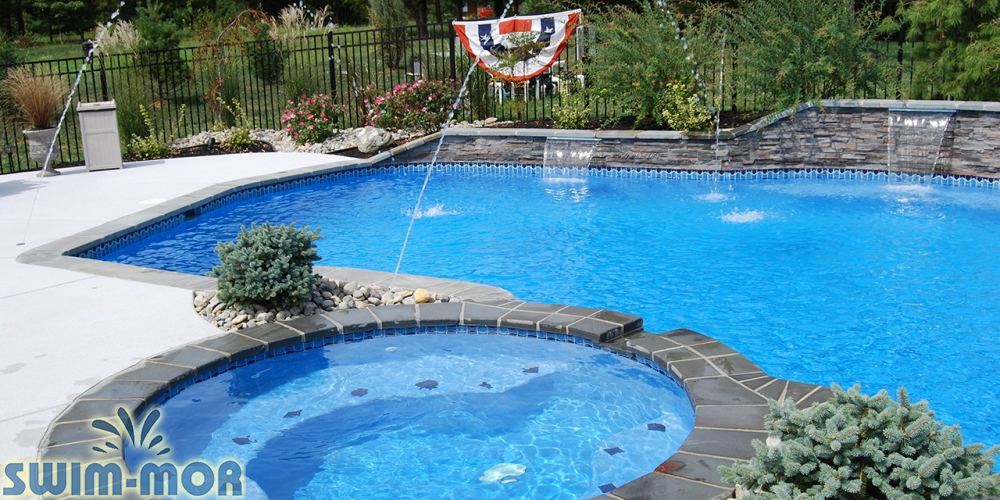 Pool Water Features Amp Accessories Swim Mor Pools And Spas