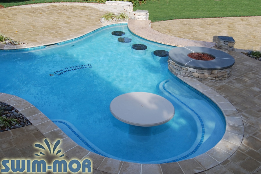 Pool Bar Stools, Tables & Pool Furniture | Swim-Mor Pools ...