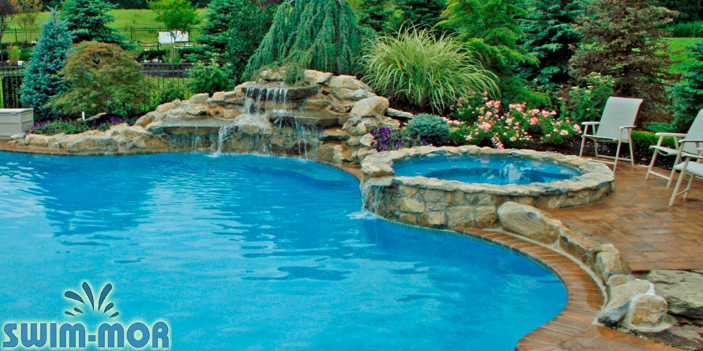 Swimming Pool Rock Waterfalls | Swim-Mor Pools and Spas