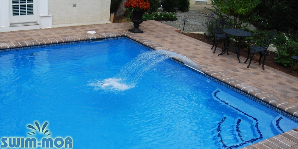 Pool Water Features & Accessories | Swim-Mor Pools and Spas