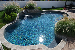 pools in small yard